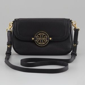 Tory Burch Black Amanda Cross Body Bag